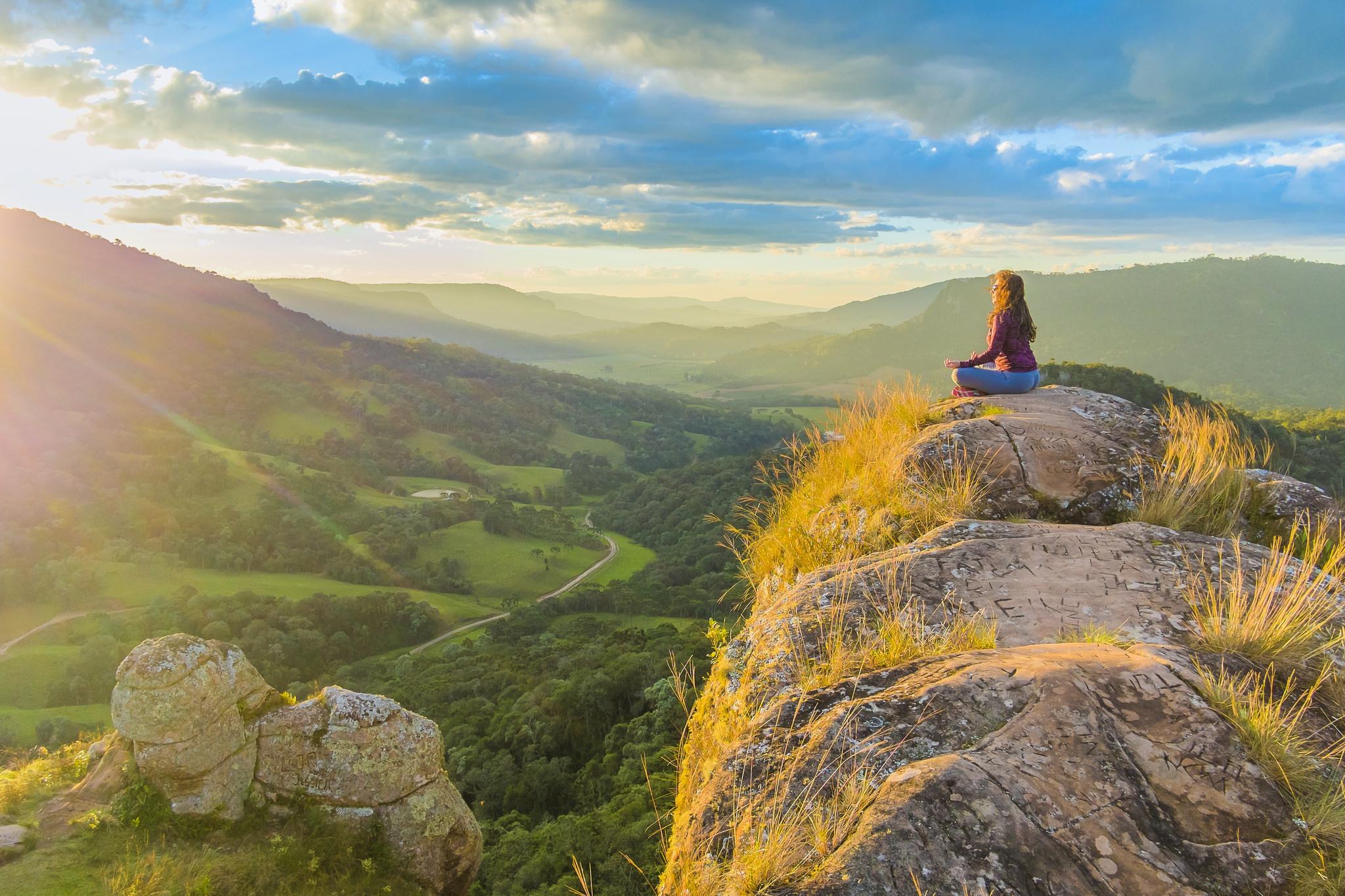 Natuur retraite Zon innerlijke Zon